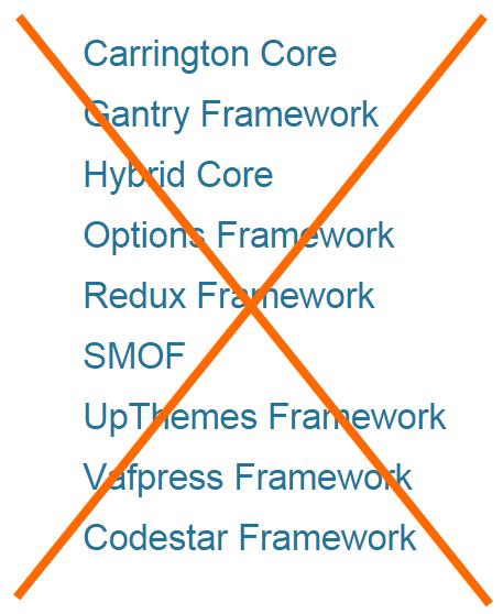 WordPress Framwork Libraries