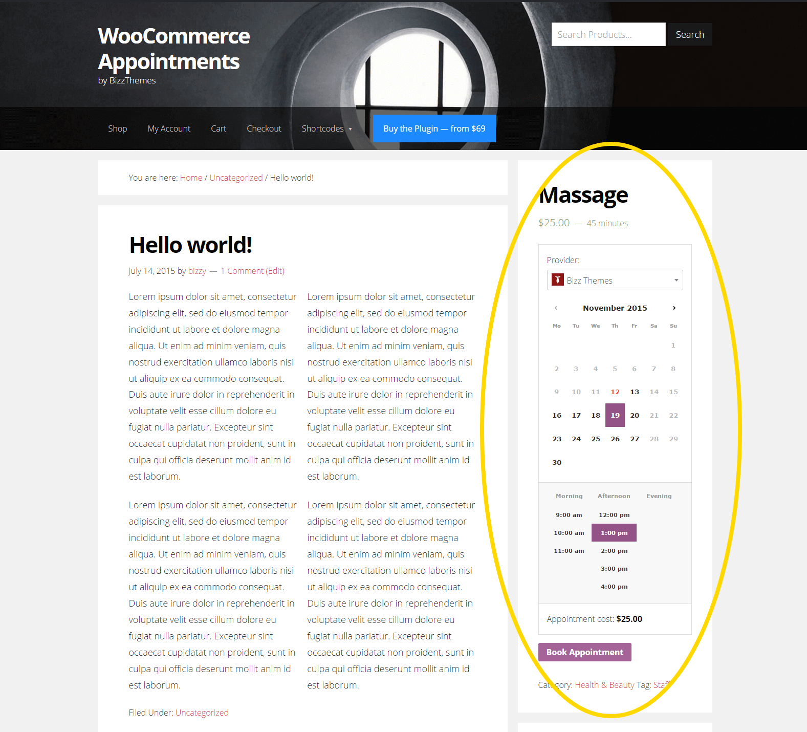 wc-appointment-shortcode-sidebar