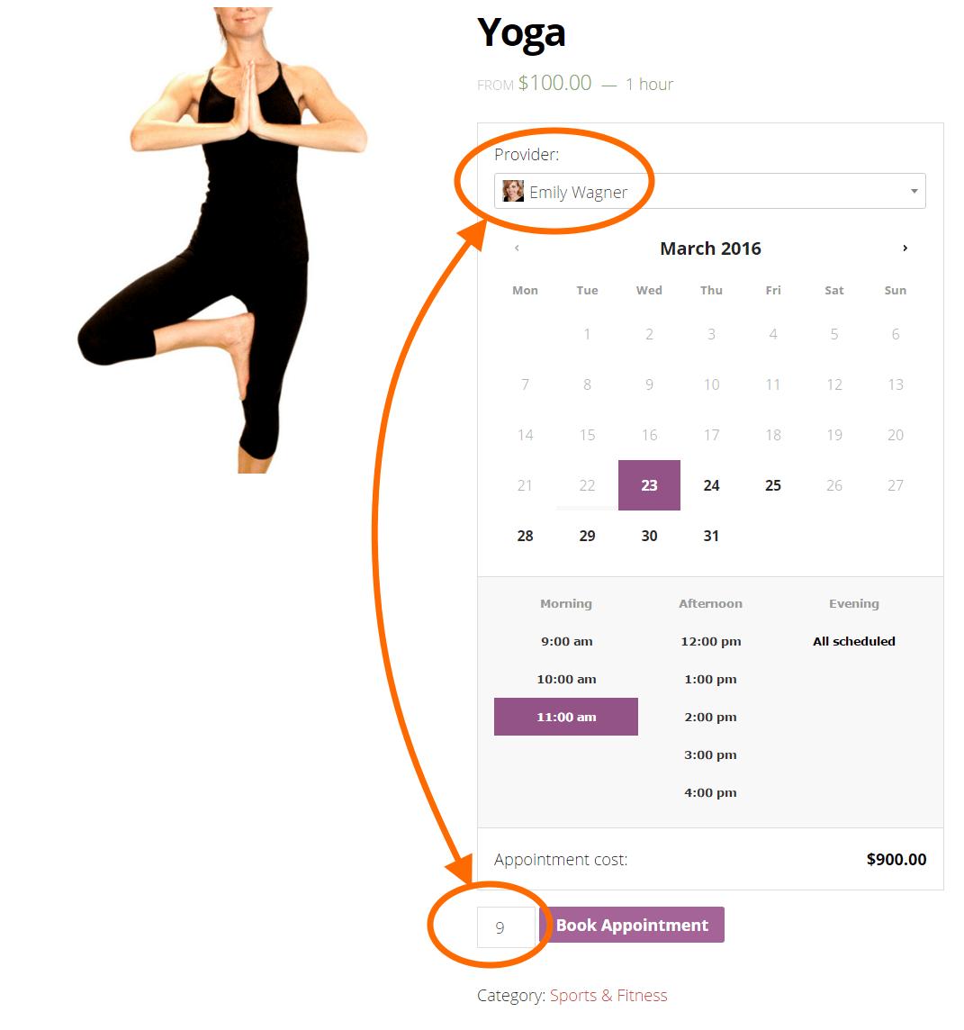 Schedule Multiple customers per Staff