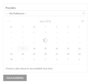 Fast Ajax Calendar
